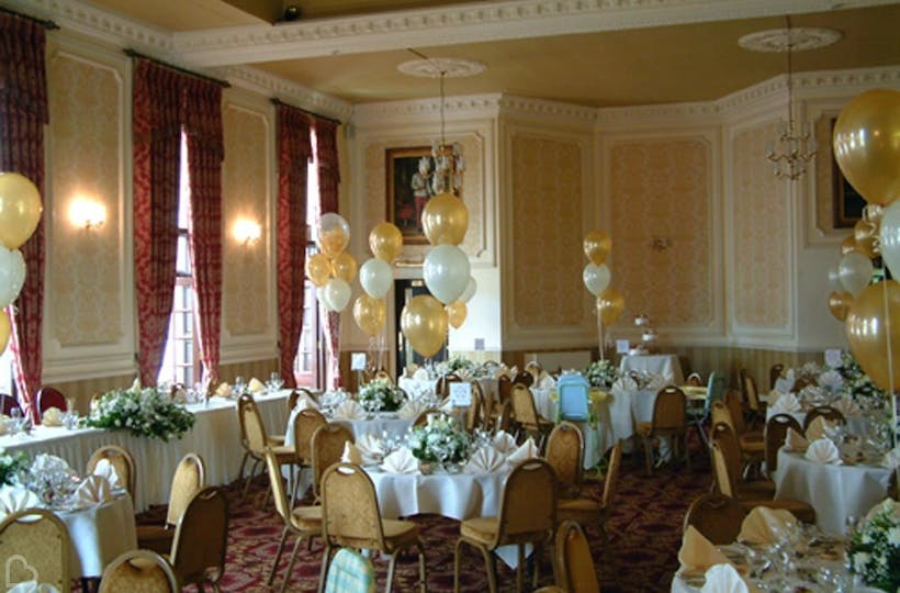 Bluebells balloons wedding decoration and hire bridebook junglespirit Images