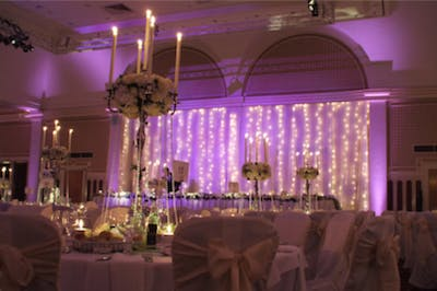 Lighting For Weddings Wedding Decoration And Hire Bridebook