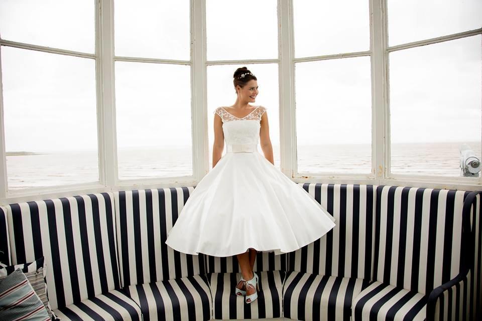 Blue Bridalwear   Wedding dress   Bridebook