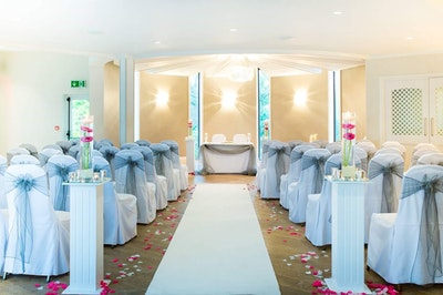 Ivory promise wedding dress and accessories bridebook bolton love rosie venue decor junglespirit Choice Image