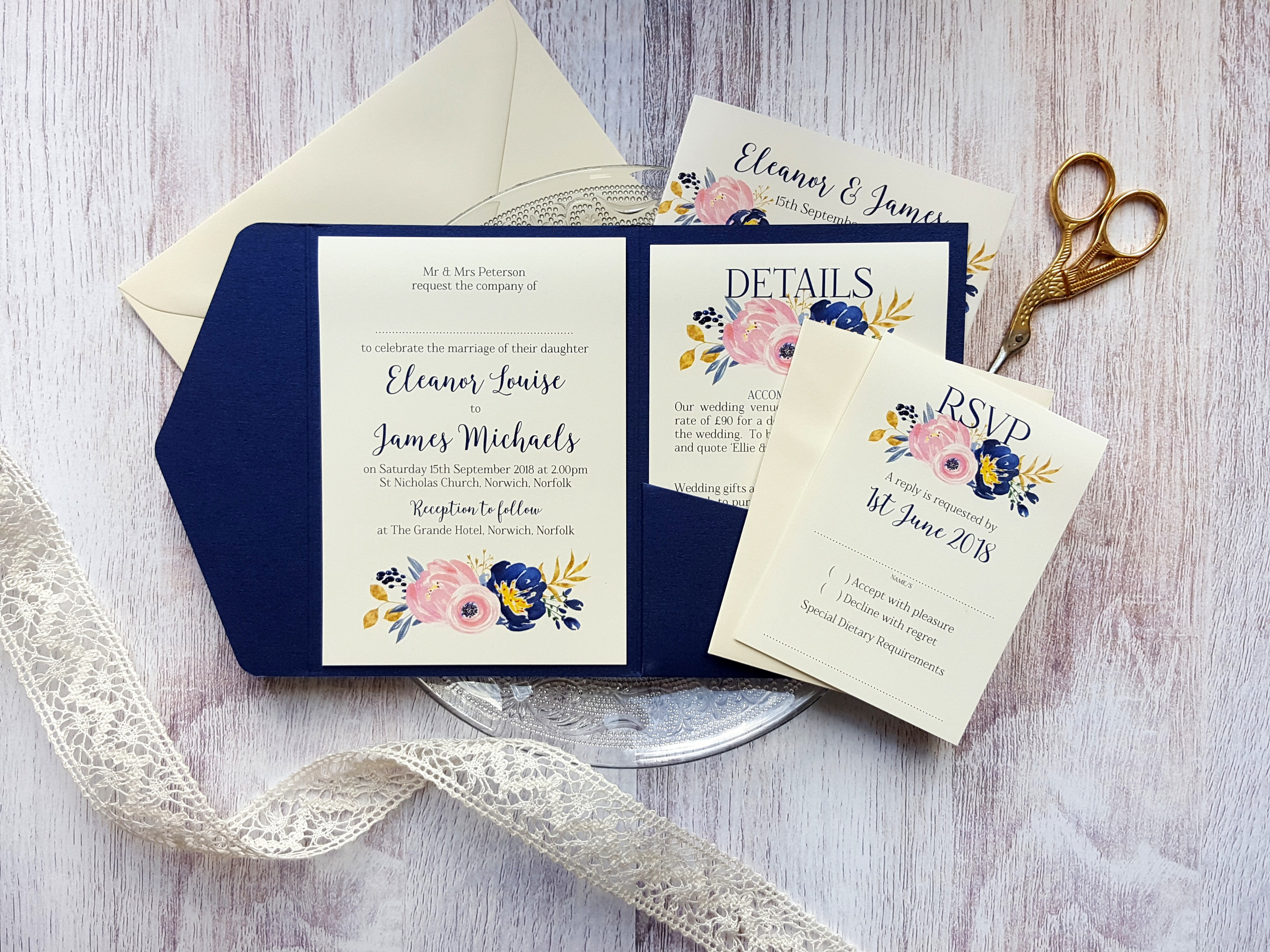 Here es The Bride Wedding Stationery