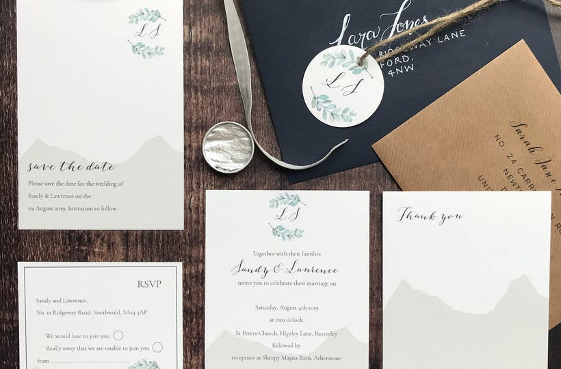 Clarendon Design Wedding Stationery Bridebook