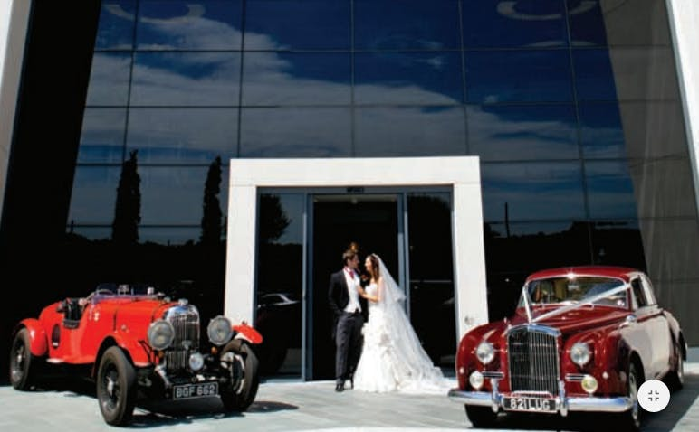 Brooklands Hotel Wedding Hire