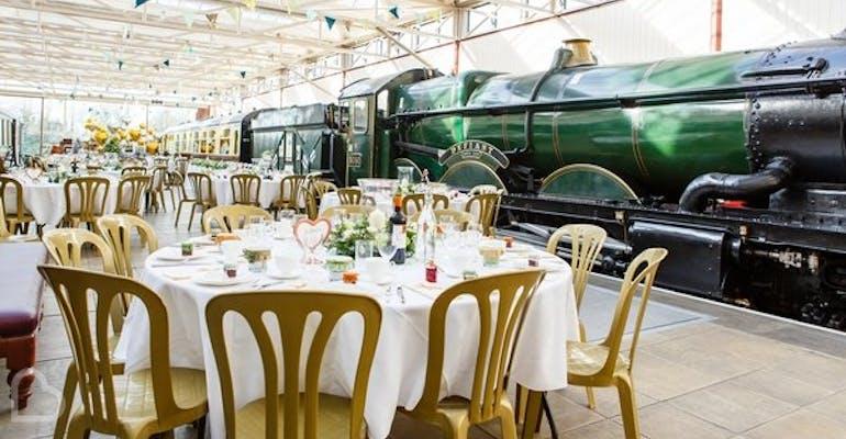 Buckinghamshire Railway Centre Wedding Venues Bridebook