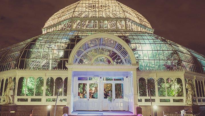 Sefton Park Palm House Wedding Hire