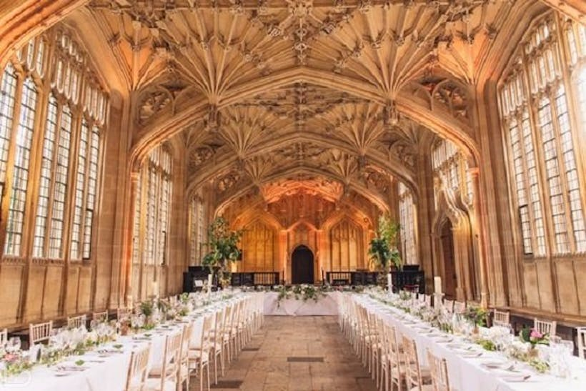 The Bodleian Library Wedding Hire