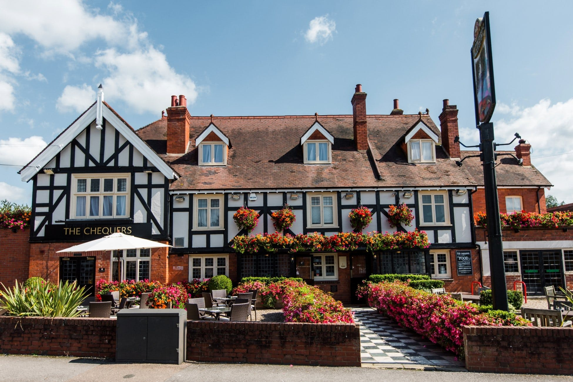 The Chequers Wedding Hire