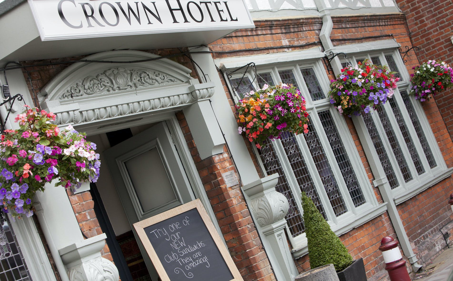 The Crown Hotel Wedding Hire