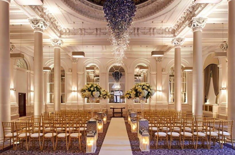 Intercontinental Edinburgh The George Wedding Venue Bridebook