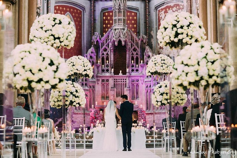 The Monastery Manchester Wedding Hire