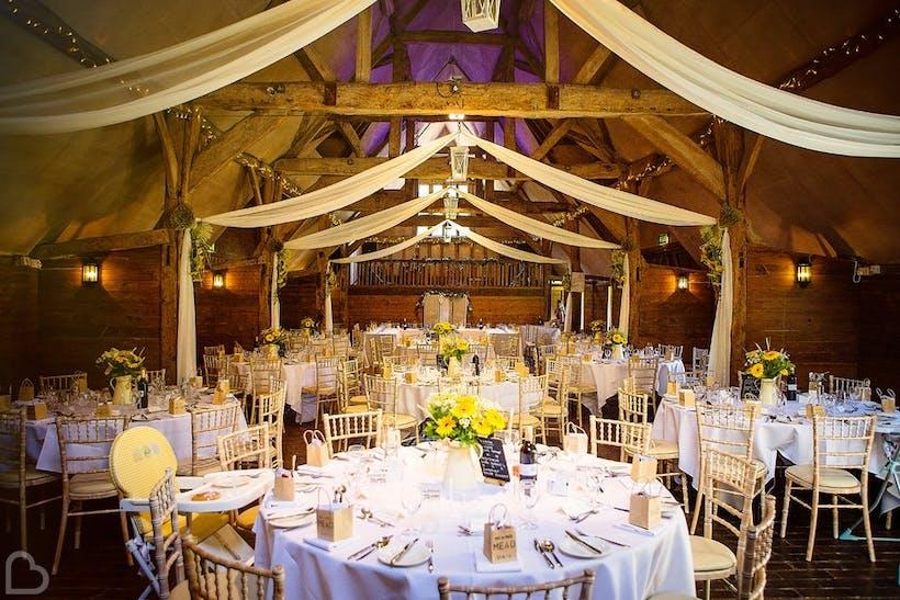 Lains Barn Wedding Hire